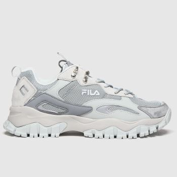 Fila Grey Ray Tracer Tr 2 Mens Trainers