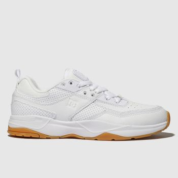e03cfa60a0e Dc Shoes White E. Tribeka Mens Trainers