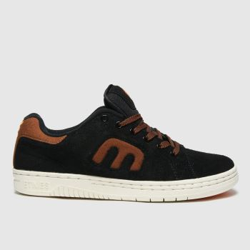 Etnies Black Calli-cut Mens Trainers