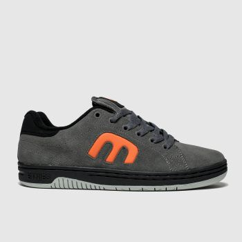 Etnies Grey & Black Calli-cut Mens Trainers