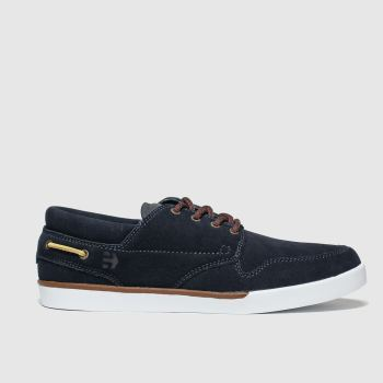 Etnies Navy Durham Mens Trainers