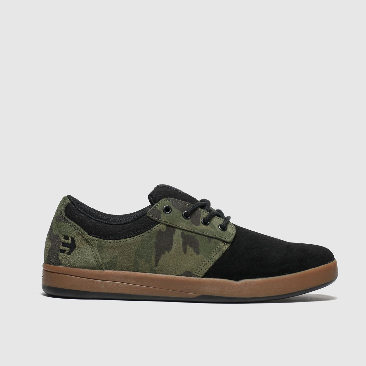 Etnies Black & Green Score Trainers