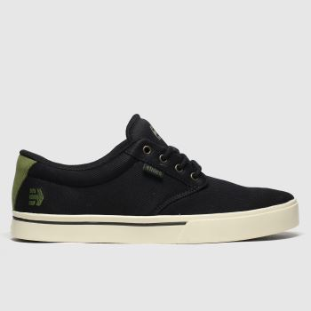Etnies Black & White Jameson 2 Eco c2namevalue::Mens Trainers