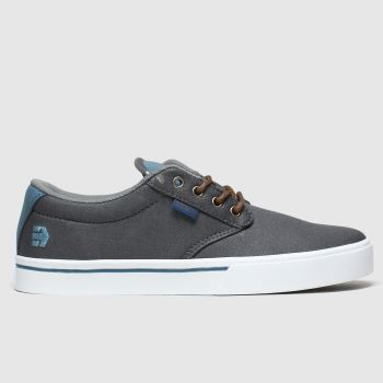 Etnies Grey Jameson 2 Eco c2namevalue::Mens Trainers