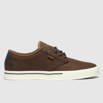 Etnies Brown Jameson 2 Mens Trainers