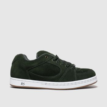 És Dark Green Accel Og Mens Trainers