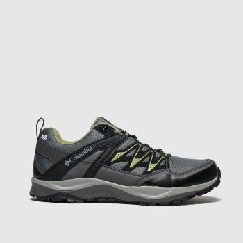 Columbia Grey & Lime Wayfinder Outdry Mens Trainers