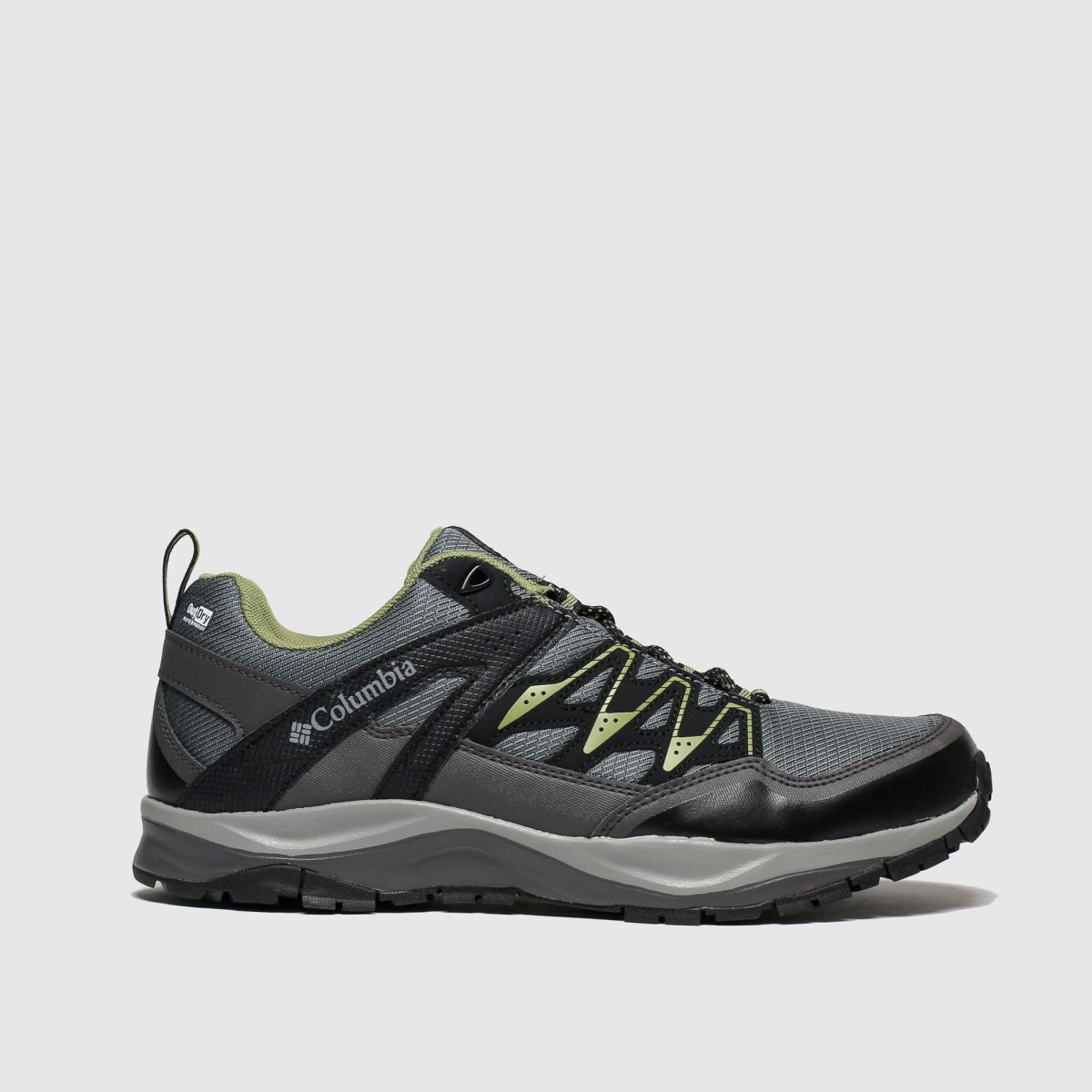 Columbia Grey & Lime Wayfinder Outdry Trainers