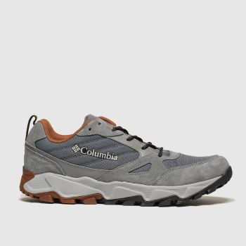 Columbia Grey Ivo Trail Mens Trainers