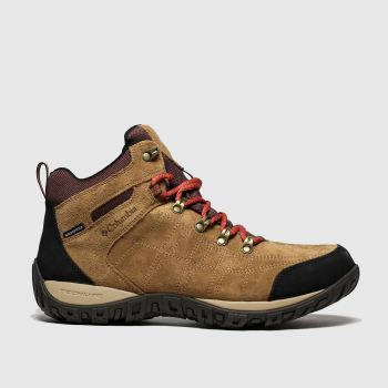 Columbia Tan Peakfreak Ventures Ii Mid Mens Trainers