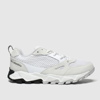 Columbia White & Black Ivo Trail Breeze Mens Trainers