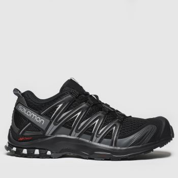 Salomon Black Xa Pro 3d Mens Trainers