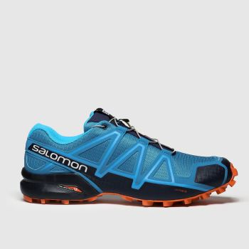 Salomon Blue Speedcross 4 Mens Trainers