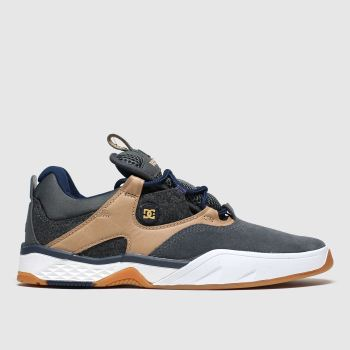 Dc Shoes Black & Brown Kalis Mens Trainers