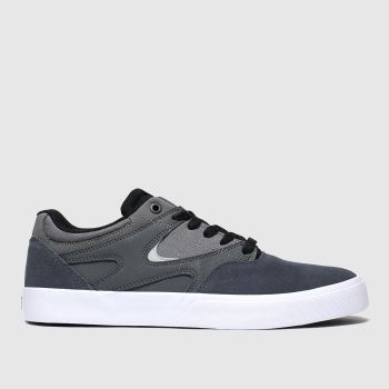 Dc Shoes Grey Kalis Vulc Trainers