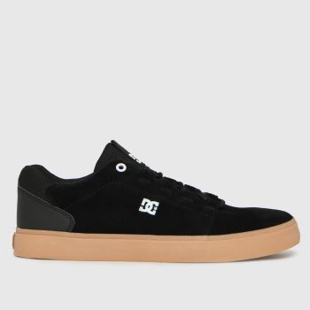 DC Black & Brown Hyde Mens Trainers