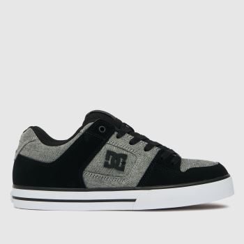 DC Grey Pure Mens Trainers