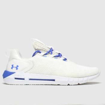 Under Armour White & Navy Hovr Strt Trainers