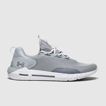 Under Armour Light Grey Hovr Strt Mens Trainers