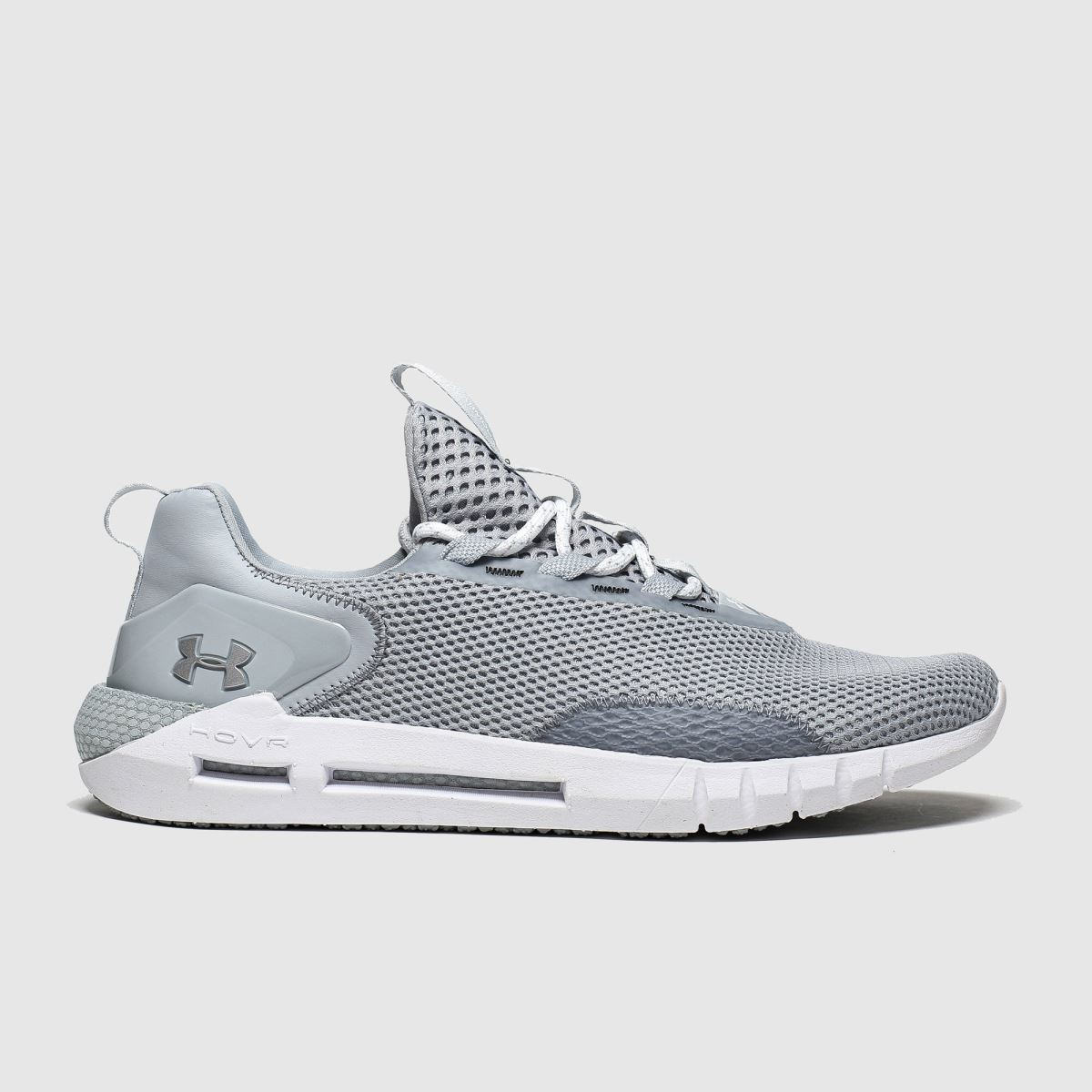 Under Armour Light Grey Hovr Strt Trainers