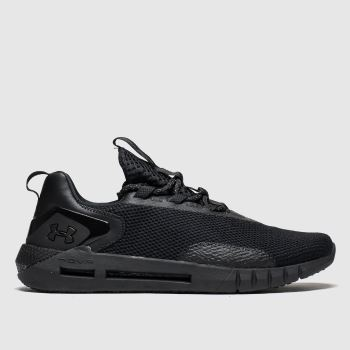 Under Armour Black Hovr Strt Mens Trainers