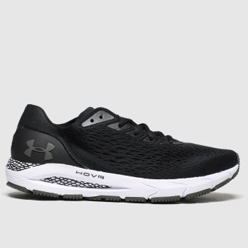 Under Armour Black & White Hovr Sonic 3 Mens Trainers