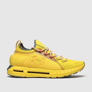 Under Armour Yellow Hover Phantom Se Mens Trainers