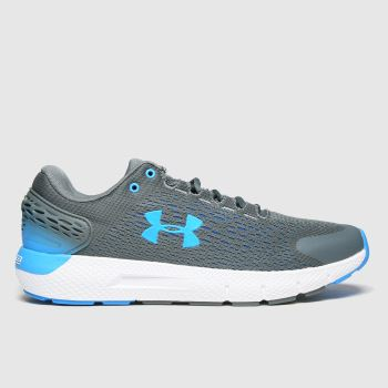 Under Armour Grey Charged Rogue 2 Mens Trainers