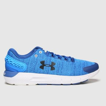 Under Armour Blue Charged Rogue 2 Mens Trainers