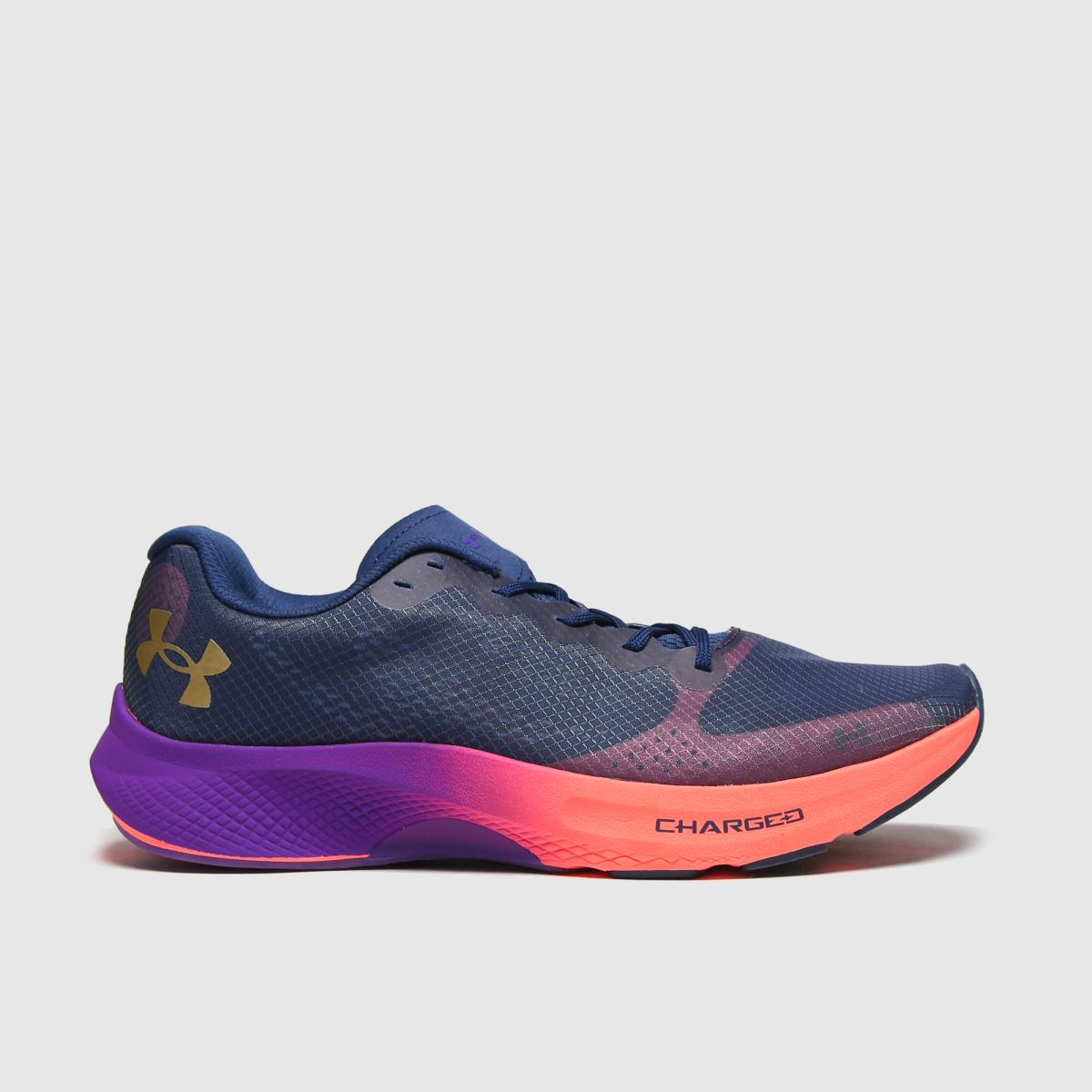Under Armour Navy Charged Pulse Trainers