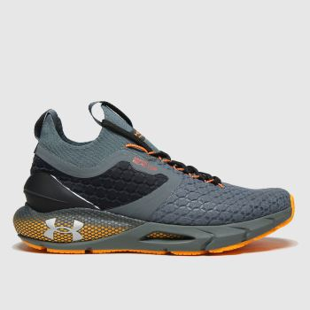 Under Armour Black & Grey Hovr 2 Coldgear Reactor Mens Trainers