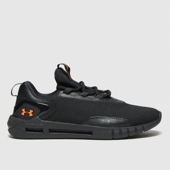 Under Armour Black Hovr Strt Logo Mens Trainers