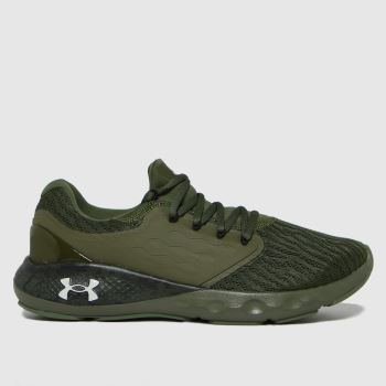 Under Armour Khaki Charged Vantage Camo Mens Trainers