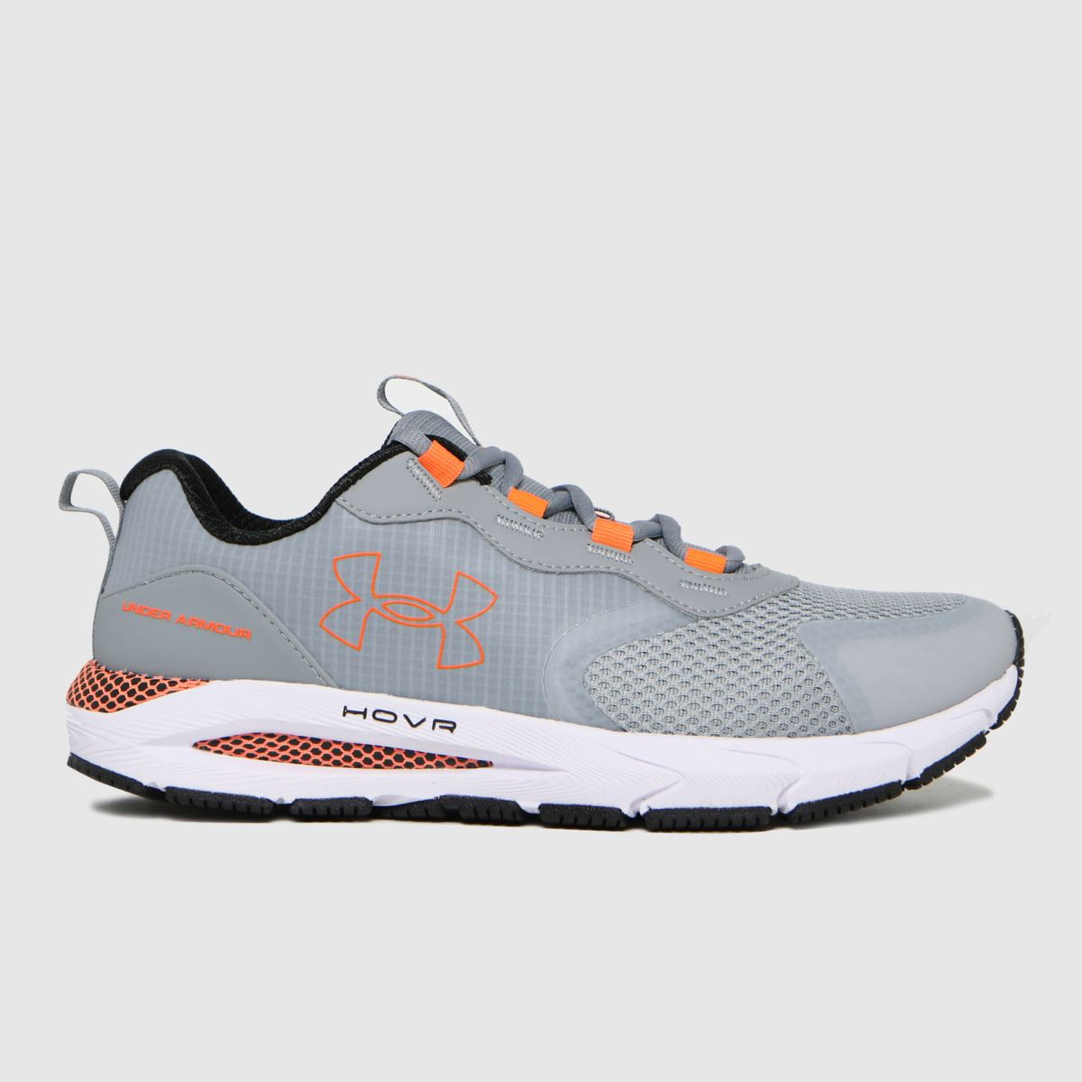 Under Armour Grey Hovr Sonic Strt Trainers