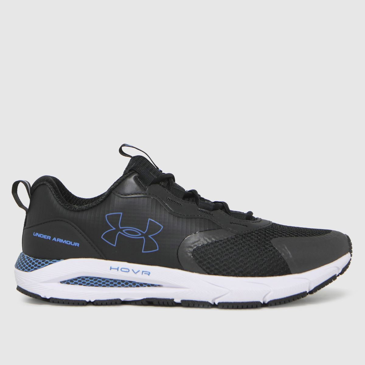 Under Armour Black & White Hovr Sonic Strt Rflct Trainers