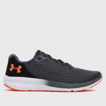 Under Armour Grey Charged Pursuit 2 Mens Trainers