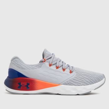 Under Armour Light Grey Charged Vantage Sp Pnr Mens Trainers