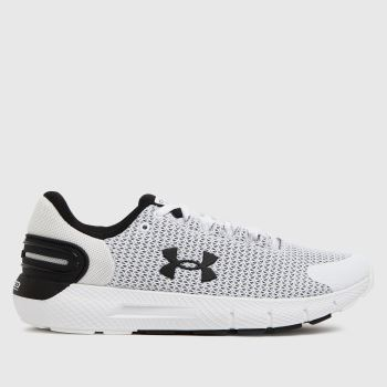 Under Armour White Charged Rogue 2.5 Mens Trainers