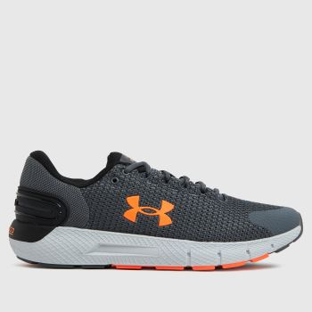 Under Armour Grey Charged Rogue 2.5 Mens Trainers