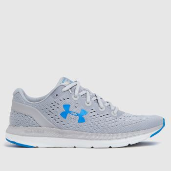 Under Armour Grey Charged Impulse Mens Trainers