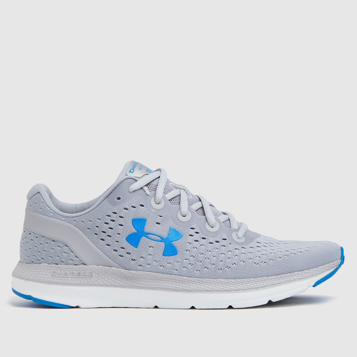 Under Armour Grey Charged Impulse Trainers