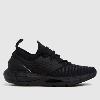 Under Armour Black & Grey Hovr Phantom 2 Inknt Mens Trainers