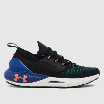 Under Armour Black & Navy Hovr Phantom 2 Inknt Mens Trainers
