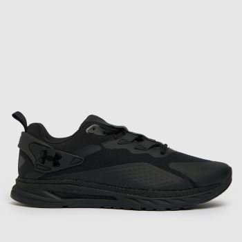Under Armour Black Hovr Flux Mvmnt Mens Trainers