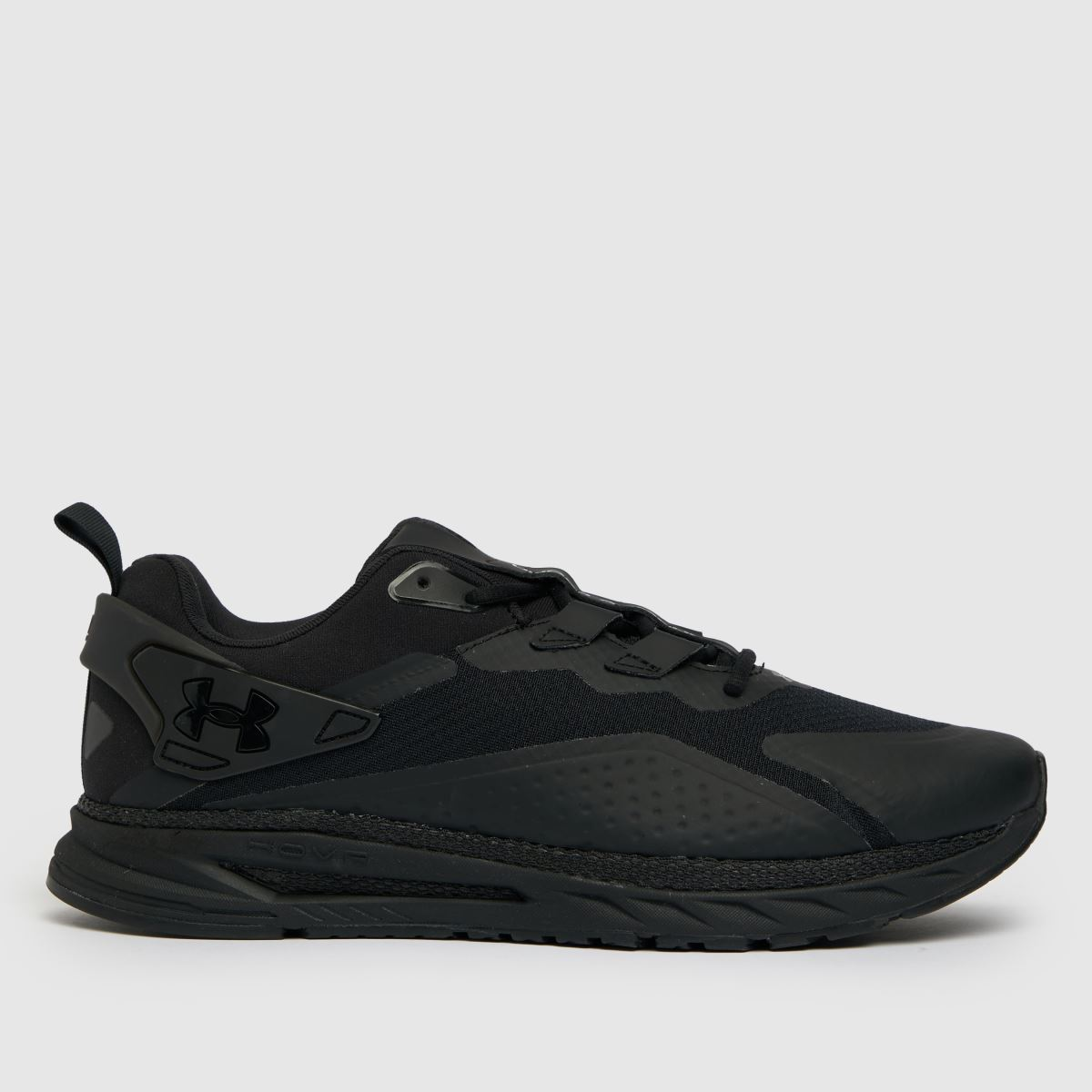 Under Armour Black Hovr Flux Mvmnt Trainers