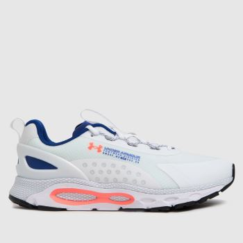 Under Armour White Hovr Infinite Summit 2 Mens Trainers