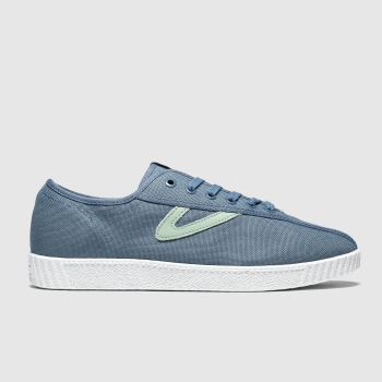 Tretorn Blue Nylite Canvas Mens Trainers