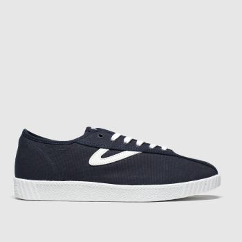 Tretorn Navy & White Nylite Canvas Mens Trainers