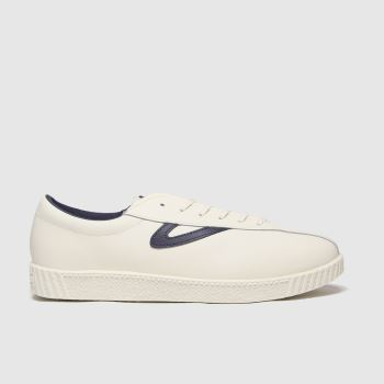 Tretorn White Nylite Leather Trainers