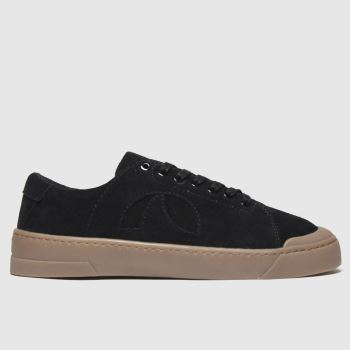 Roscomar Black Blvd Suede Mens Trainers#